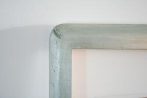 Custom frame for Nigel Van Wieck painting