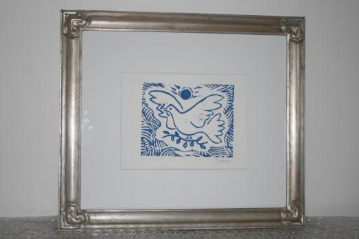 Picasso dove print