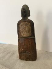 Taoist Female Figure Back