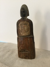 Taoist Female Figure Back
