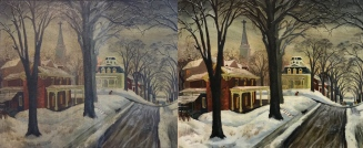 Norris Street Scene Before and After
