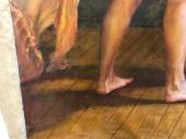 Dripping varnish