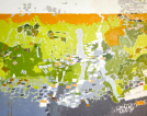 Finger Lakes Geomorphology 48 x 60 x 1.5
