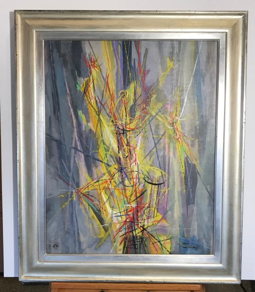 Peterdi Burning Bush Framed Final